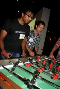 Foosball: Summify vs A Thinking Ape